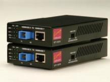 Gigabit Ethernet Copper-to-Fiber Converters